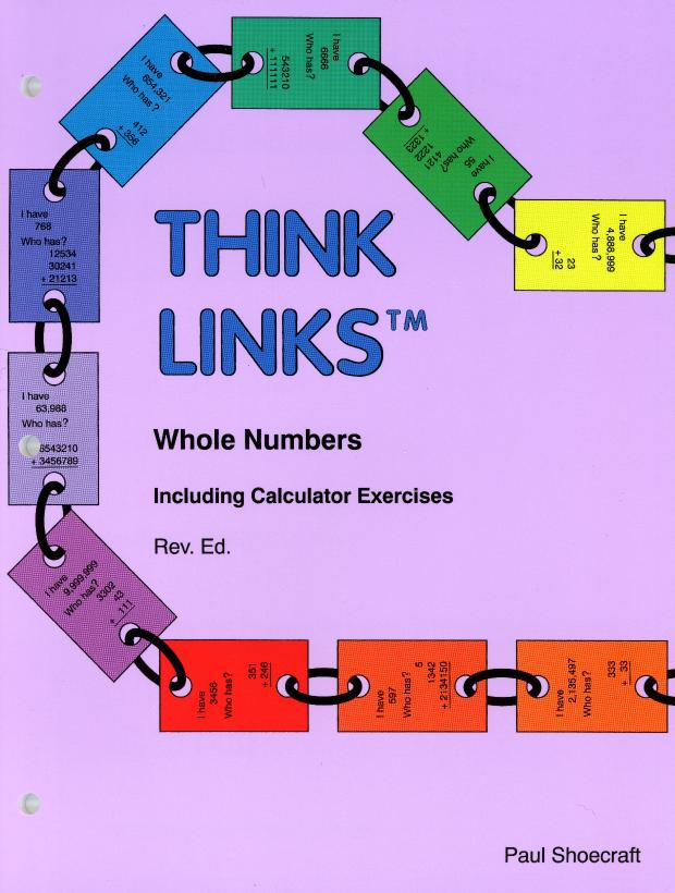 Think Links™: Games Whole Numbers Arithmetic Calculator