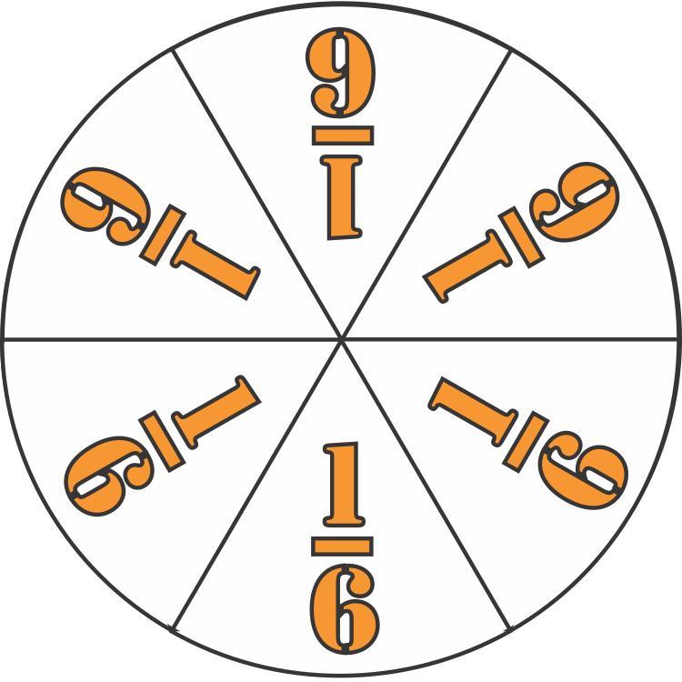 elementary school math fraction circle sixths